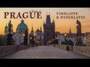 A Glass of Prague. Timelapse Hyperlapse. Czech Republic