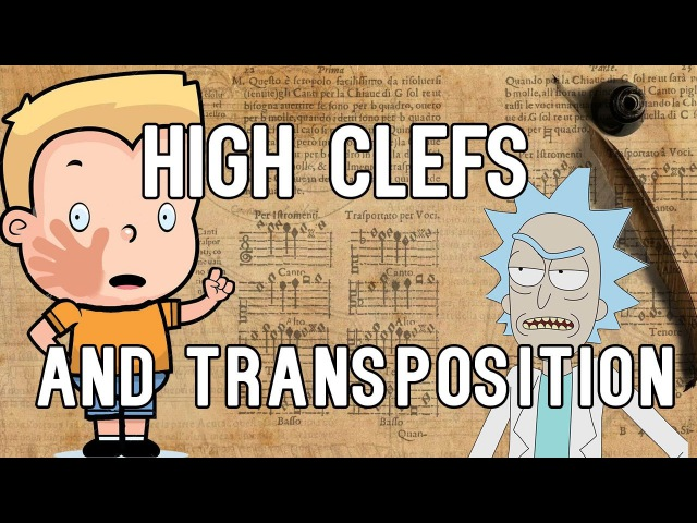 High clefs (so called Chiavetta) and transposition