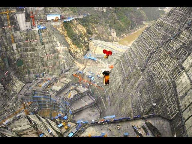 Китайцы не успокоятся: Строительство самой большой арочной дамбы в мире