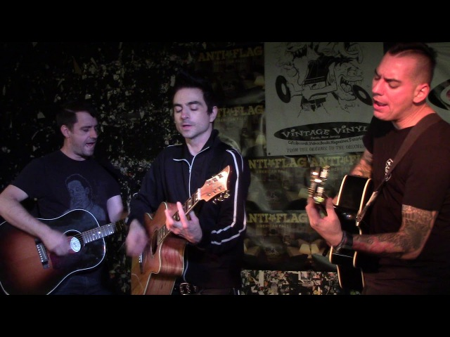 Anti-Flag Live In-store at Vintage Vinyl - 11/02/2017