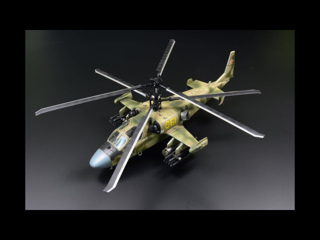 Kamov Ka-52 Alligator Hokum-B 172 Italeri - Helicopter Model