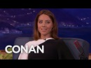 Aubrey Plaza's Favorite Red Head Myths CONAN on TBS
