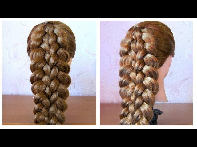 Tuto coiffure simple: belle coiffure facile à faire cheveux long/mi long ♡ Easy Braid Hairstyle