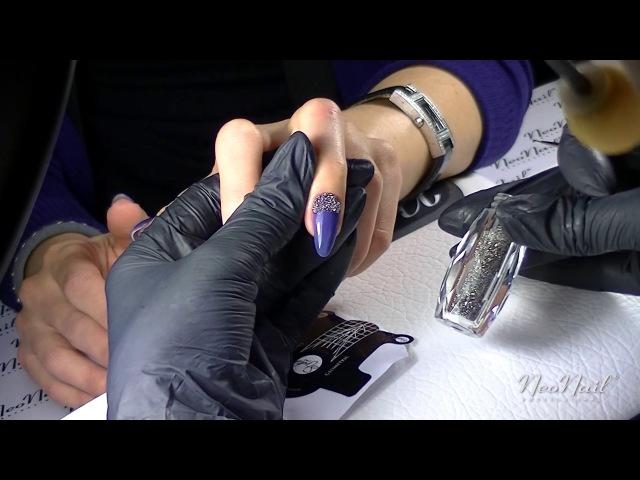 06 Видео-урок Работа с хрустальной крошкой Crystal Pixie от Ангелины Фрейман