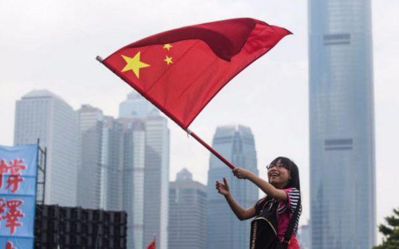 Китай отмечает 68-ю годовщину образования КНР Жители Китая в воскресе
