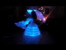 Студия современного танца Dance Show Танец со светодиодными веерами-вейлами. Новый год 2017, Кольчугино, Ахтамар