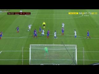 Кубок Испании 2016-17 / Copa del Rey / 1/4 финала / Первый матч / Реал Сосьедад — Барселона 1тайм
