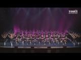 Выступление студии Тодес-Омск на концерте балета Аллы Духовой