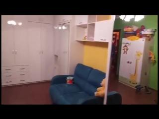 Подъемная кровать и мебель для детской комнаты   Мебель Индивидуаль: кровати-трансформеры, детские, кухни, спальни, шкафы-купе!