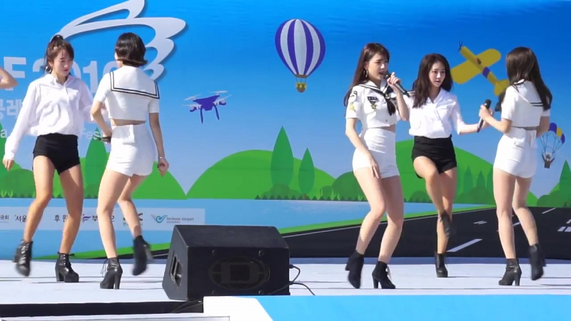 [FANCAM] 08.10.16 9MUSES A - Dolls @ Korea Air Sports Festival