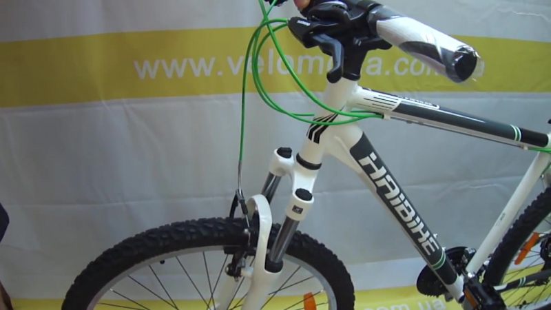 Настройка ободного тормоза велосипеда системы V brake обучающее видео от Velomod