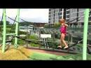 Влог КУКЛА беби бон и Настя играют на площадке для Детей Аттракционы и горки Видео для малышей Vlog