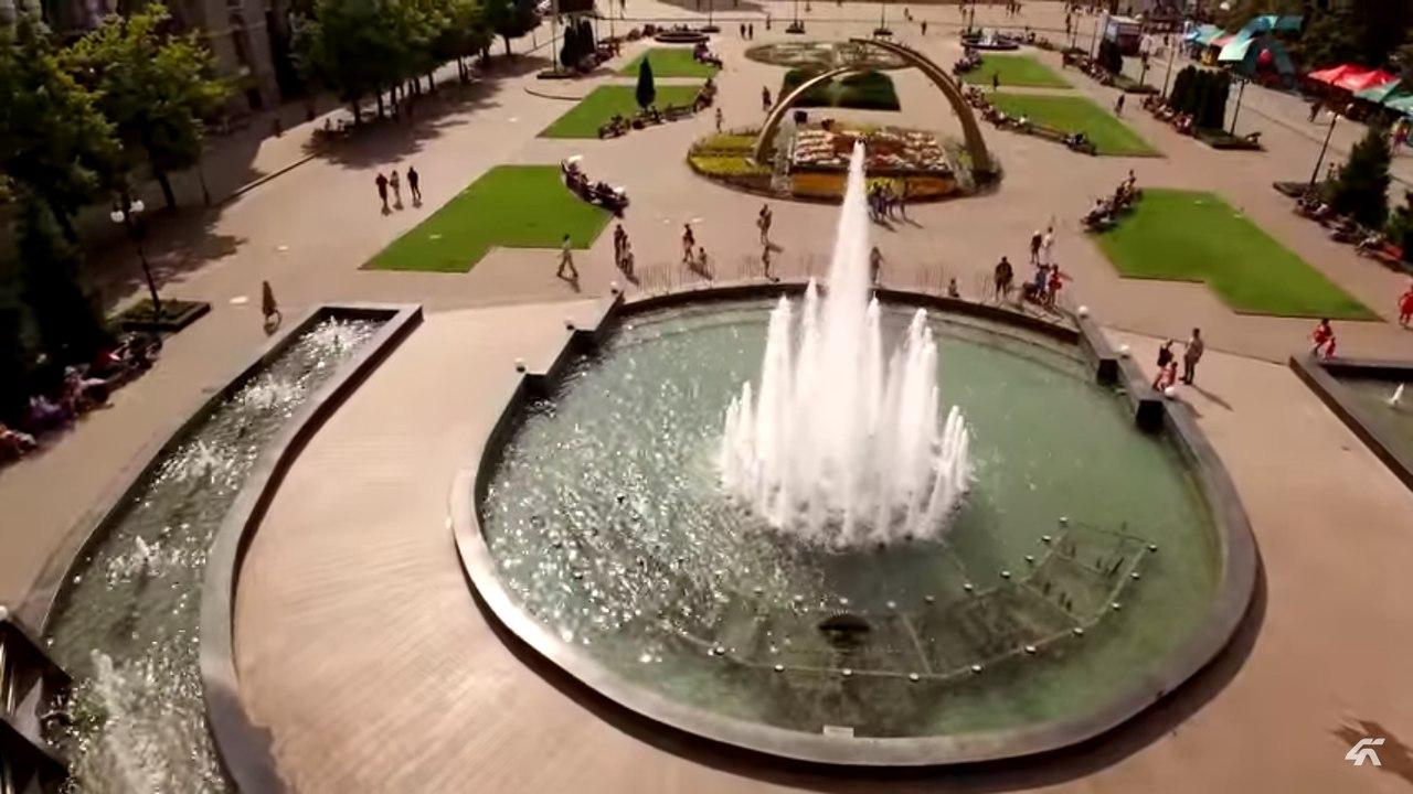 Привокзальная площадь в Харькове очаровывает туристов (ВИДЕО)