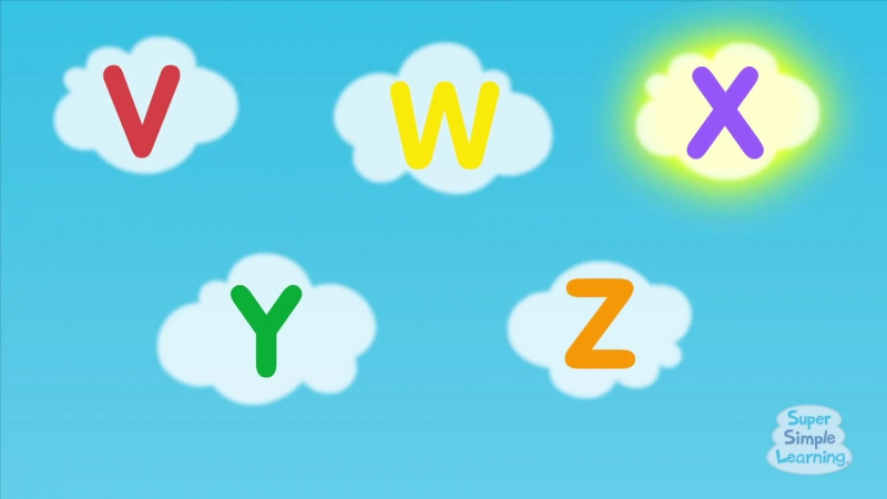 The Super Simple Alphabet Song (Uppercase) ¦ Super Simple ABCs