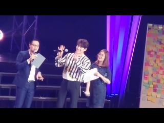 170121 Jichangwook 1st fanmeeting in BKK - QA