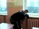 В школе Кристина и Дима