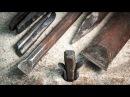 Blacksmithing - Forging tools for stone splitting