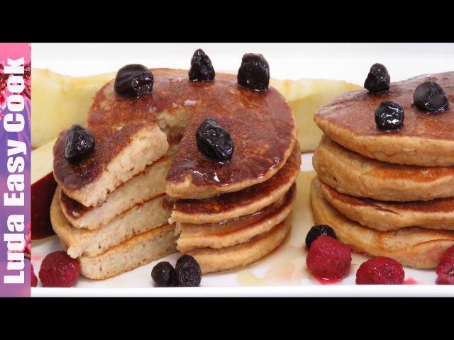 СУПЕР ПОЛЕЗНЫЙ ЗАВТРАК ОЛАДЬИ БЕЗ МУКИ С ЯБЛОКАМИ HEALTHY PANCAKES NO FLOUR Apple Oatmeal Pancakes