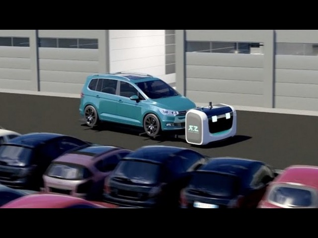 Robot Stan: Stanley Robotics has created a robot who parking cars the easy way.