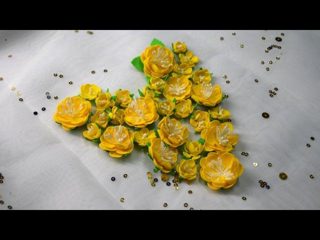 Цветы из фоамирана / Мастер класс / Скрапбукинг