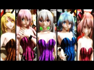 【MMD】Carry Me Off - Miku, Luka, Rin, Haku, Teto HD 1080p