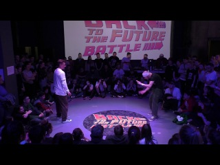 Nixone vs Momo popping pro Back to the future battle 2017