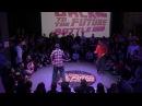 Kavun vs Baturo popping pro Back to the future battle 2017