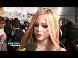 Avril Lavigne - Entrevista Access Hollywood, AMA 21.11.2010