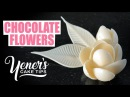 How to Make Simple CHOCOLATE FLOWERS Tutorial Yeners Cake Tips with Serdar Yener from Yeners Way