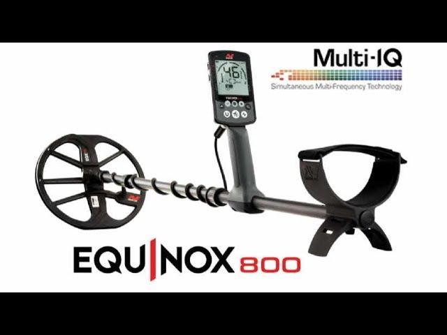 Minelab Equinox NOWA technologia Multi IQ