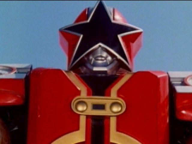 Red Battlezord First Fight (Power Rangers Zeo) - Debut