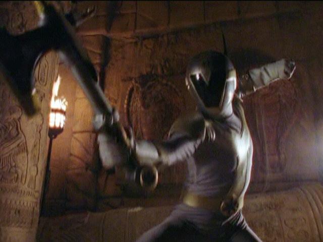 Ryan (Titanium Ranger) vs the Cobra (Power Rangers Lightspeed Rescue).