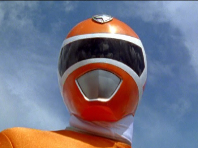 Orange Ranger in Power Rangers S.P.D..