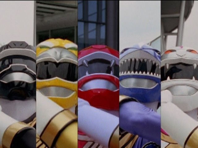 Taming of the Zords Megazord Fight (Power Rangers Wild Force)
