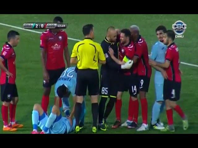 Zirə 2 - 1 Qəbələ Geniş İcmal Зира 2 - 1 Габала обзор матча
