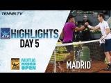 Обзор мужский матчей на турнире в Мадриде