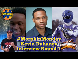 Kevin Duhaney Interview Rd. 1 | Power Rangers Dino Thunder | Morphin' Monday