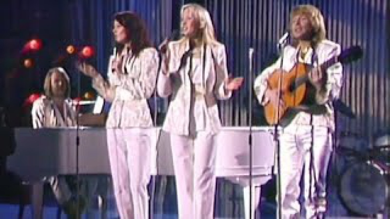 ABBA - Thank You For The Music - Live (HD, Switzerland 1979)