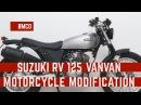 Born Beach 125 - Suzuki RV125 Vanvan - motorcycle modification 04