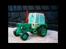 Как слепить Трактор из пластилина! ЮМЗ -6