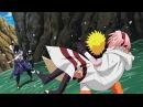 Какаши и Наруто против Саске, чуть не убил Сакуру