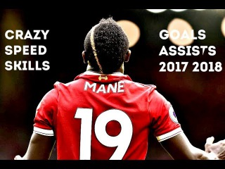 Sadio Mane●Crazy Speed,Goals Skills 2017-2018 HD