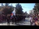 Парад русских моряков в Греции. Октябрь 2011 года