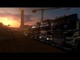 ETS2 MP | Euro Truck Simulator 2 - Официальный конвой ВТК Bears ! | 24.03.2017