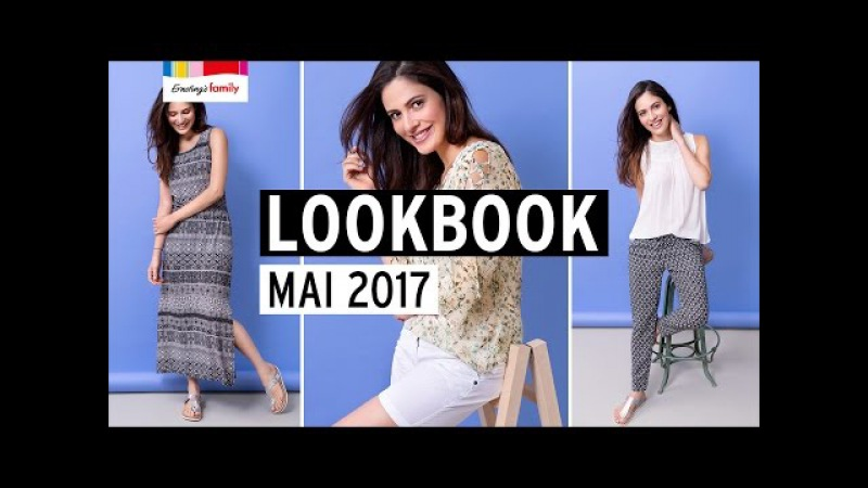 LOOKBOOK MAI 2017 | Ernsting's family | MODE