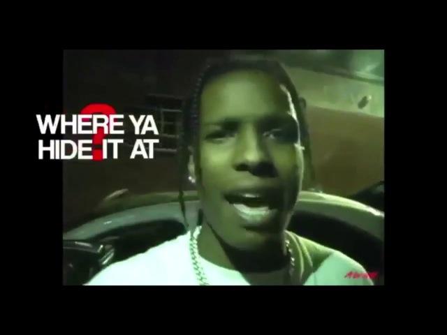 A$AP Rocky Lil Uzi Vert Freestyle (Prod by. Metro Boomin) [AWGE DVD]