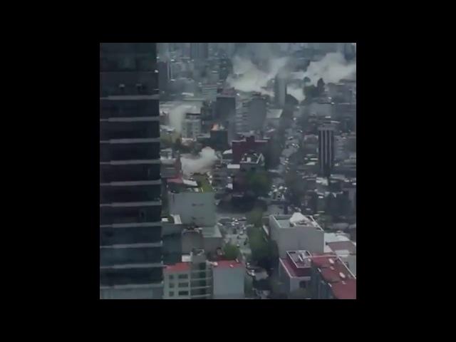 Terremoto México 7.1 Explosiones, Derrumbes, Devastación 19 de septiembre 2017