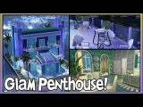 Vintage Glam Penthouse by Simstruction!  Sims 4 Lot Showcase