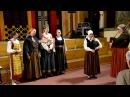 2016.12.10 Latvijas Kultūras akadēmijas tradicionālās dziedāšanas grupa ,,SAUCĒJAS