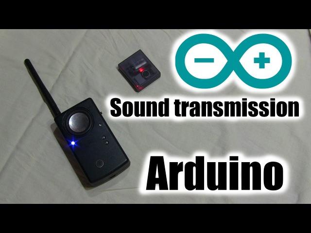 Жучок - прослушка на Arduino NRF24L01